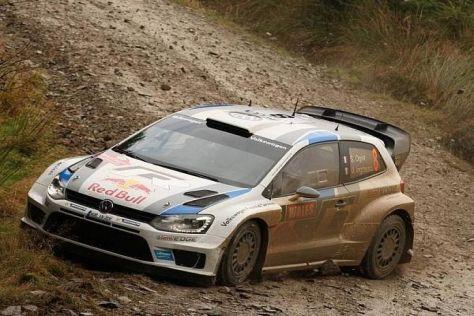 Sebastien Ogier hat auch in Wales die WRC-Konkurrenz im Griff