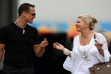 Genießen jetzt die schönen Seiten des Lebens: Corinna und Michael Schumacher