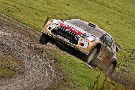 Dani Sordo kämpfte bei der Rallye Großbritannien auf verlorenem Posten