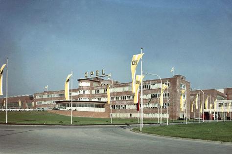 Opel Werk Bochum 1962