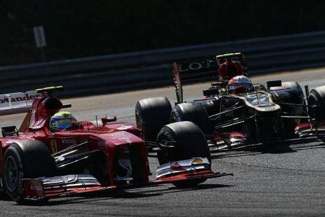 Letzter Tanz: Für Lotus wird es schwierig, Ferrari noch zu überholen