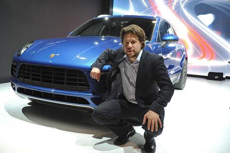 Porsche Macan Sitzprobe