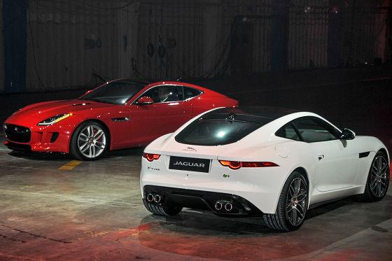 Jaguar F-Type Coupé in LA
