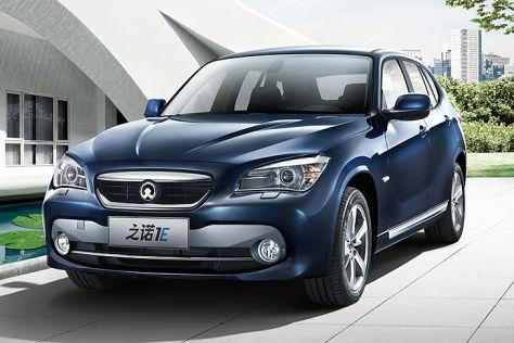 Bmw Und Brilliance Elektroauto Zinoro Ie F 252 R China
