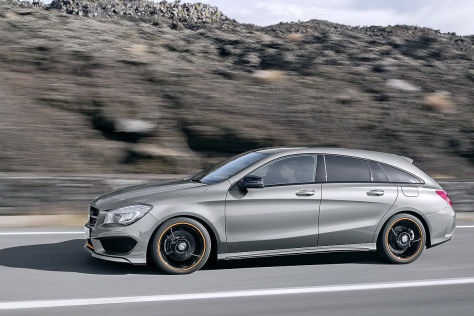 Mercedes CLA Shooting Brake: Erlkönig (2015)