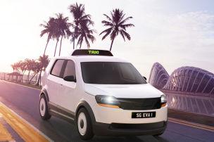 E-Taxi f�r Singapur