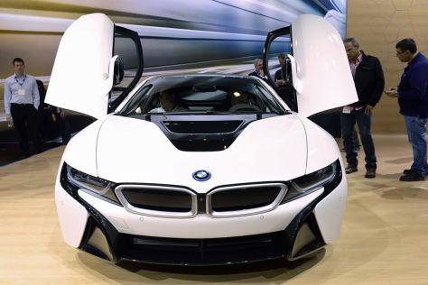 BMW i8 auf der LA Auto Show 2013