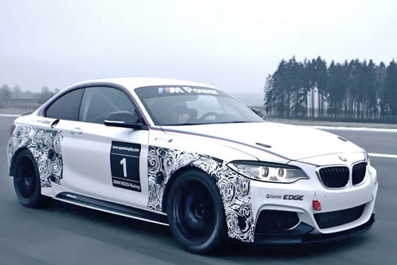 bmw m235i racing detroit 2014 update. Black Bedroom Furniture Sets. Home Design Ideas
