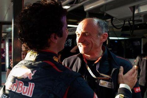Daniel Ricciardo und Franz Tost sind offenbar auch derselben Wellenlänge