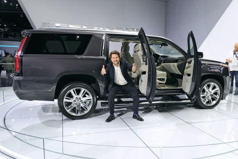 Cadillac Escalade Sitzprobe