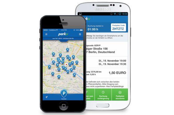 parku-App Smartphone