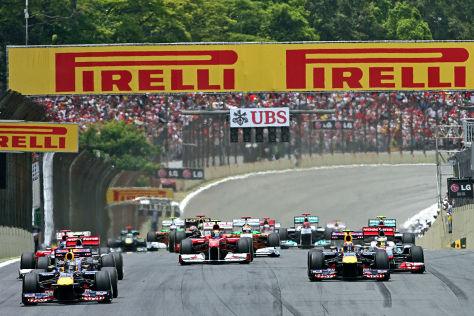 Formel 1 GP Brasilien 2011
