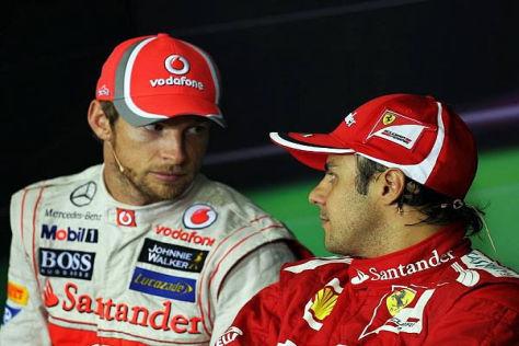 Hart aber fair: Jenson Button hat großen Respekt vor Felipe Massa