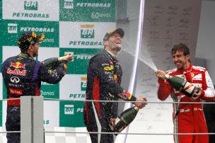 Vettel mit Finale furioso