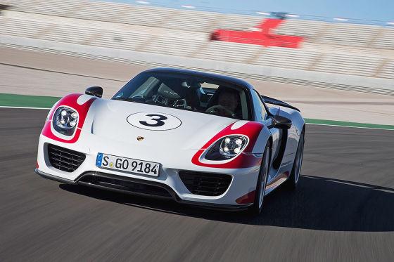 So fährt der Porsche 918 Spyder