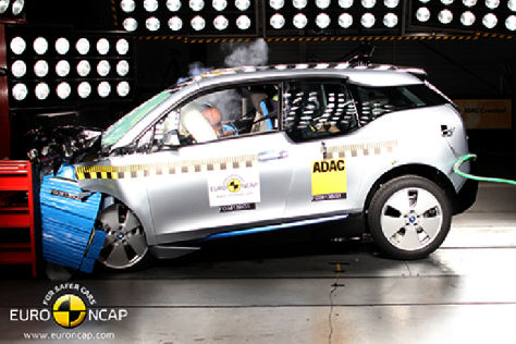 BMW i3 Euro NCAP-Crashtest November 2013