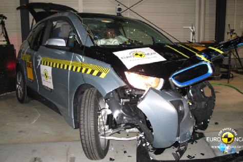 Euro NCAP Crashtest November 2013