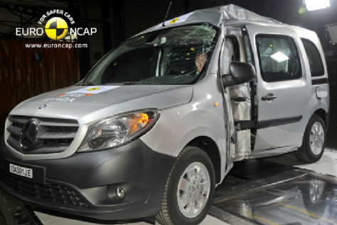 Mercedes Citan Euro NCAP-Crashtest November 2013