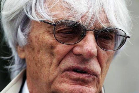 Bernie Ecclestone will sich mit dem neuen Reglement 2014 nicht anfreunden