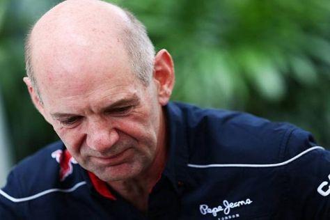 Vor rund zehn Jahren erlebte Adrian Newey in der Formel 1 keine gute Zeit