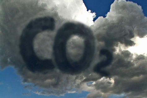 CO2 Wolken