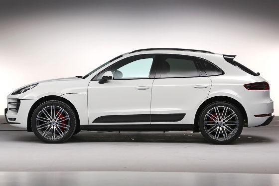 Porsche Macan Seitenansicht