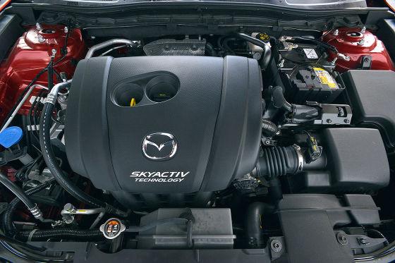 Skyactiv-Motor im Mazda3