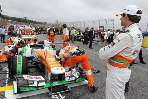 Adrian Sutil blickt auf ein enttäuschendes Jahr 2013 bei Force India zurück