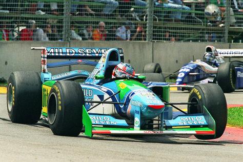 Michael Schmacher im Benetton B194