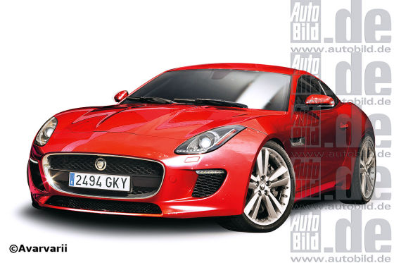 Jaguar F-Type Coupé Illustration