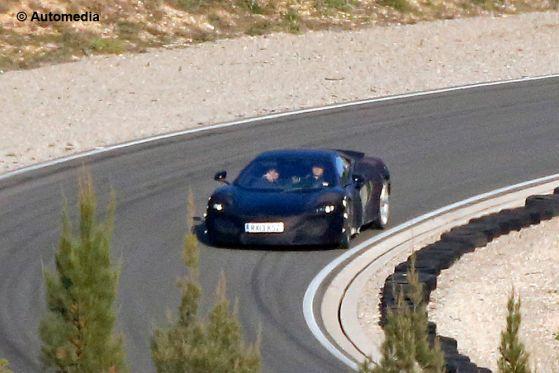 McLaren P13 Erlkönig