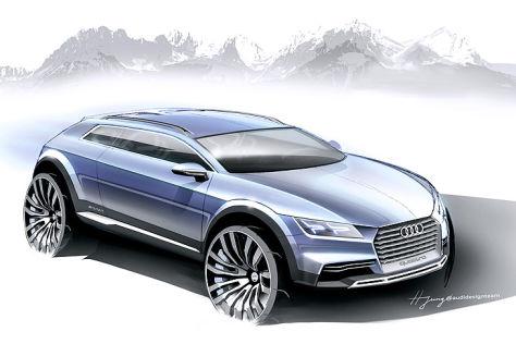 Audi Showcar: Detroit Auto Show 2014