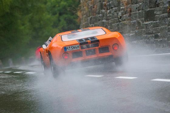 Ford GT40 orange Frontansicht