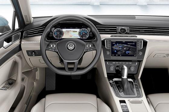 VW (Passat) CC Illustration Frontansicht