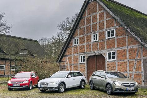 Audi A4 allroad Opel Insignia Country Tourer VW Passat Alltrack