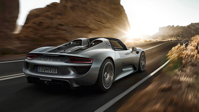 Video Porsche 918 Spyder Autobild De