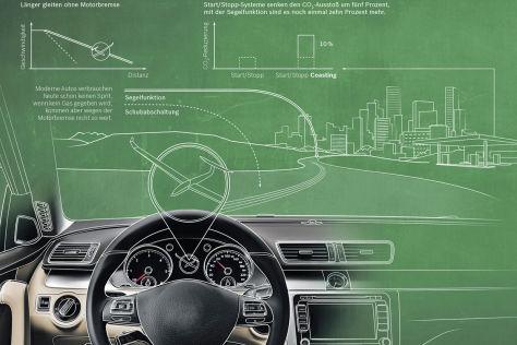 Start/Stopp-System zm Segeln von Bosch