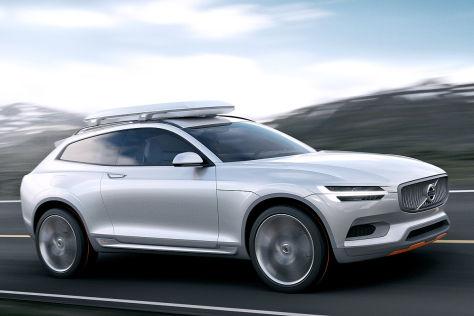 Volvo Concept XC Coupé: Detroit Auto Show 2014