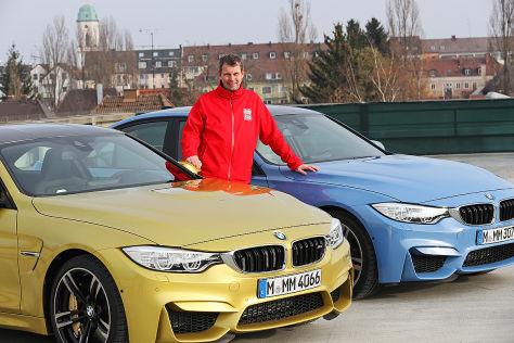 BMW M4 Sitzprobe Jörg Maltzan