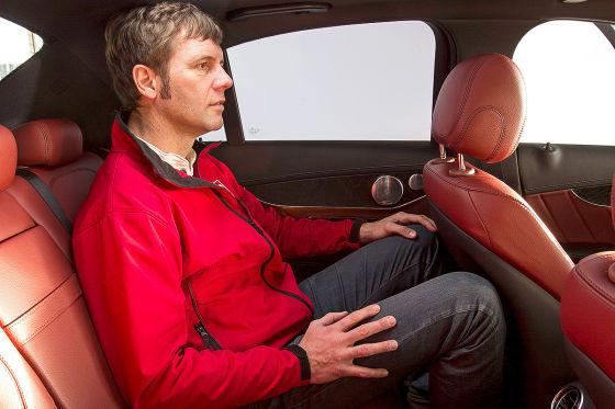 Sitzprobe Mercedes C-Klasse