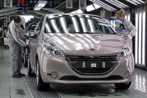 Risse GM Peugeot Citroen Montage