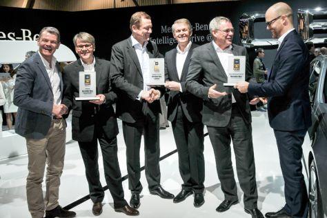 Mercedes S-Klasse Gewinner