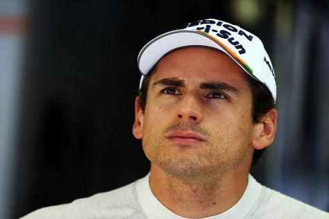 Adrian Sutil hat bei Sauber unterschrieben, sein neuer Kollege steht noch nicht fest
