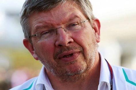 Ross Brawn kann sich gut vorstellen, dass Mercedes 2014 das Tempo vorgibt