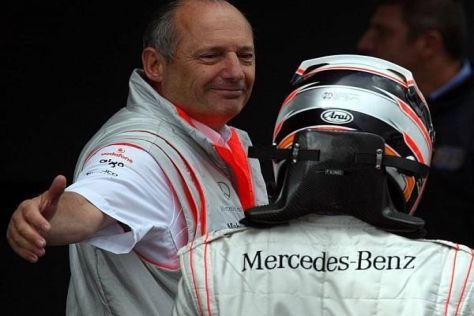 Fernando Alonso und Ron Dennis gingen nach der Saison 2007 im Streit auseinander