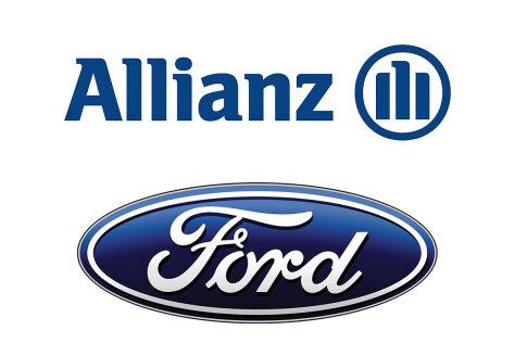 Logos Allianz und Ford