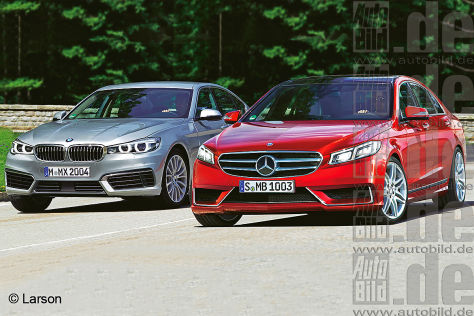 Neue Mercedes E-Klasse gegen BMW 5er