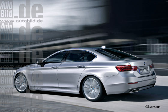 Neuer BMW 5er (Illustration)
