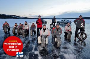 Eiszeit in Ivalo