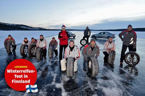 Lesereise Finnland Gruppenfoto